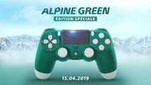 Manette DualShock 4 Alpine Green - Trailer d'annonce