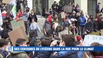 À la Une : les lycéens dans la rue pour le climat / les Verts se déplacent sur la pelouse de l'avant dernier de Ligue1 / les derniers préparatifs pour la Biennale à J-6 / et puis l'Histoire de Mélody Nelson reprend vie.