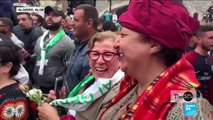 Demanding their voices be heard: Large numbers of women join in protests in Algeria