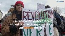 Au Puy, à Saint-Etienne, à Dole, à Bourg-en-Bresse ou à Lyon, la jeunesse en marche pour la planète
