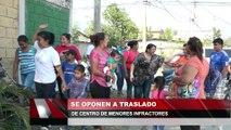 Se oponen a traslado de centro de menores infractores