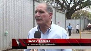 Varias represas menciona el alcalde Asfura