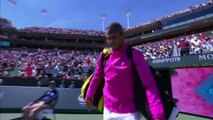Nadal sets up Indian Wells semi-final with Federer after victory over Khachanov