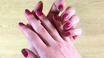 Vernis à ongles de Pastèque | Watermelon Nail Art in Francais | French Nail ArtStyle
