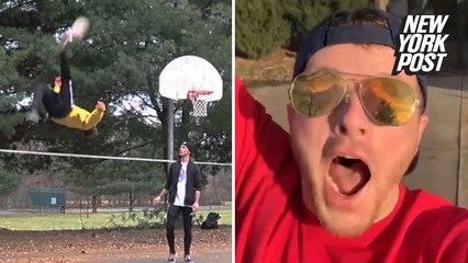 These insane trick shots will make any sports fan scream 'goal'