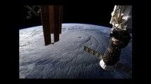 Les images impressionnantes de l'ouragan Lane vu de l'espace