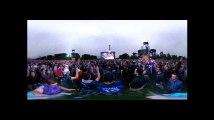 Euro 2016: La Marseillaise de France-Roumanie, dans la fanzone Tour Eiffel, à 360 degrés