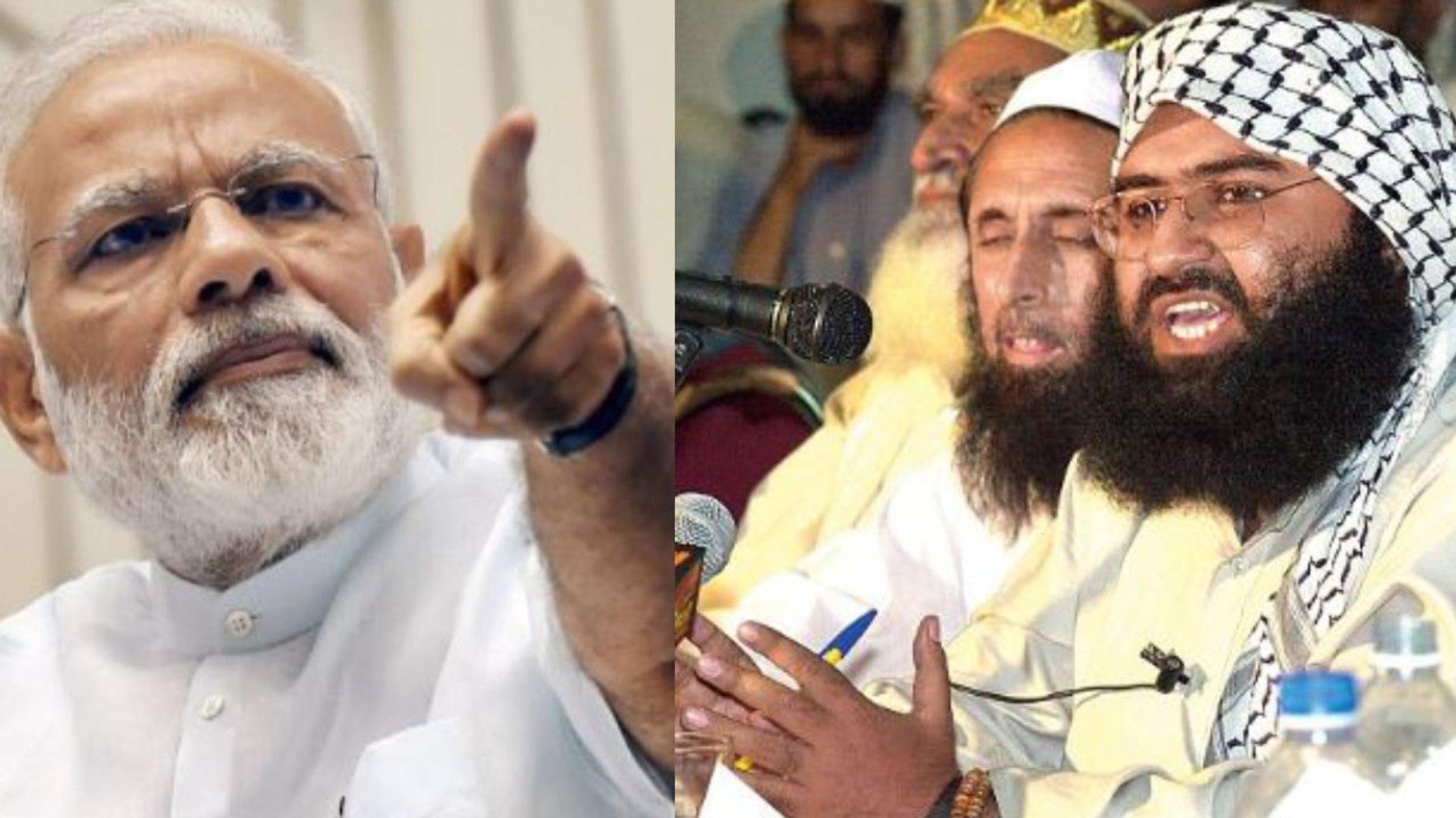 Masood Azhar ने Air Strike के बाद PM Modi को दी धमकी | वनइंडिया हिंदी