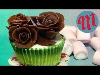 Cómo hacer rosas de chocolate   Decora tus postres