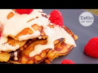 Tortitas de plátano   Postre fácil y saludable