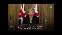 """""""Le Brexit """"dans l'impasse"""", Theresa May demande le """"respect"""" de l'Union européenne"""""""