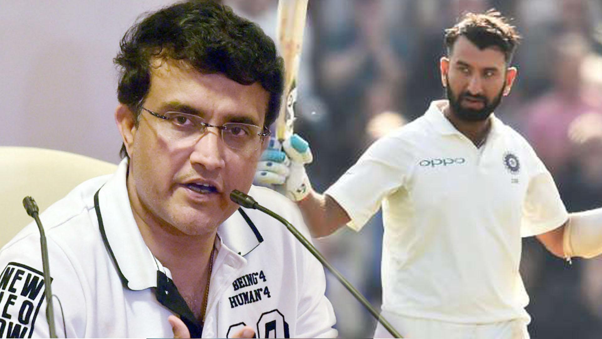 Sourav Ganguly Picks Cheteshwar Pujara For No. 4 Slot | Oneindia Telugu