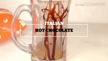 ITALIAN HOT CHOCOLATE|HOW TO MAKE HOT CHOCOLATE|CREAMY HOT CHOCOLATE