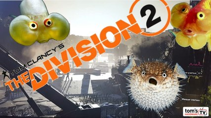 The Division 2 - Preview du test (benchmark)