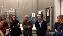 CANTON D'AGDE - Visite de terrain : Kléber MESQUIDA visite la Criée du Grau d'Agde