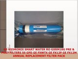 GE HYDRONIX SMART WATER RO GXRM10G PRE  POST FILTERS 50 GPD GE FXWTX GE FX12P GE FX12M