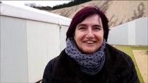 Véronique Harel, la régisseuse en chef du spectacle Des Flammes à la lumière, dont le casting se déroule aujourd'hui