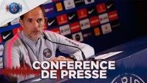 Replay : Conférence de presse de Thomas Tuchel avant  Paris Saint-Germain - Olympique de Marseille
