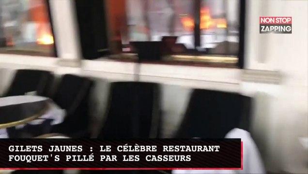 Gilets jaunes : le célèbre restaurant Fouquet's pillé par les casseurs (vidéo)
