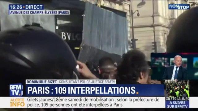 Violences à Paris: Un magasin Bulgari est pillé sur l'avenue des Champs-Élysées