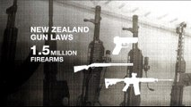 NZ attacks: Debates over gun control
