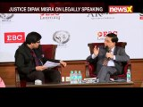 Justice Dipak Misra, Ex-CJI On Law And Dharma; Legally Speaking | Part 2
