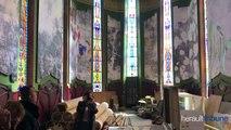 CANTON D'AGDE - Visite de terrain : Kléber MESQUIDA et les élus font étape à la Villa Laurens