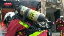Des violences à Paris en marge de la mobilisation des gilets jaunes, des magasins pillés sur les Champs-Elysées