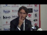 Conferenza stampa post Ancona: intervista a mister Inzaghi