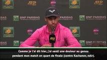 Indian Wells - Nadal zappe sa demi-finale... et Miami !