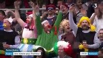 Rugby : le XV de France arrache une victoire face à l'Italie