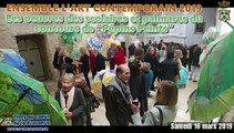 Concours de parapluie et finissage Ensemble lart contemporain TRETS 16Mars2019
