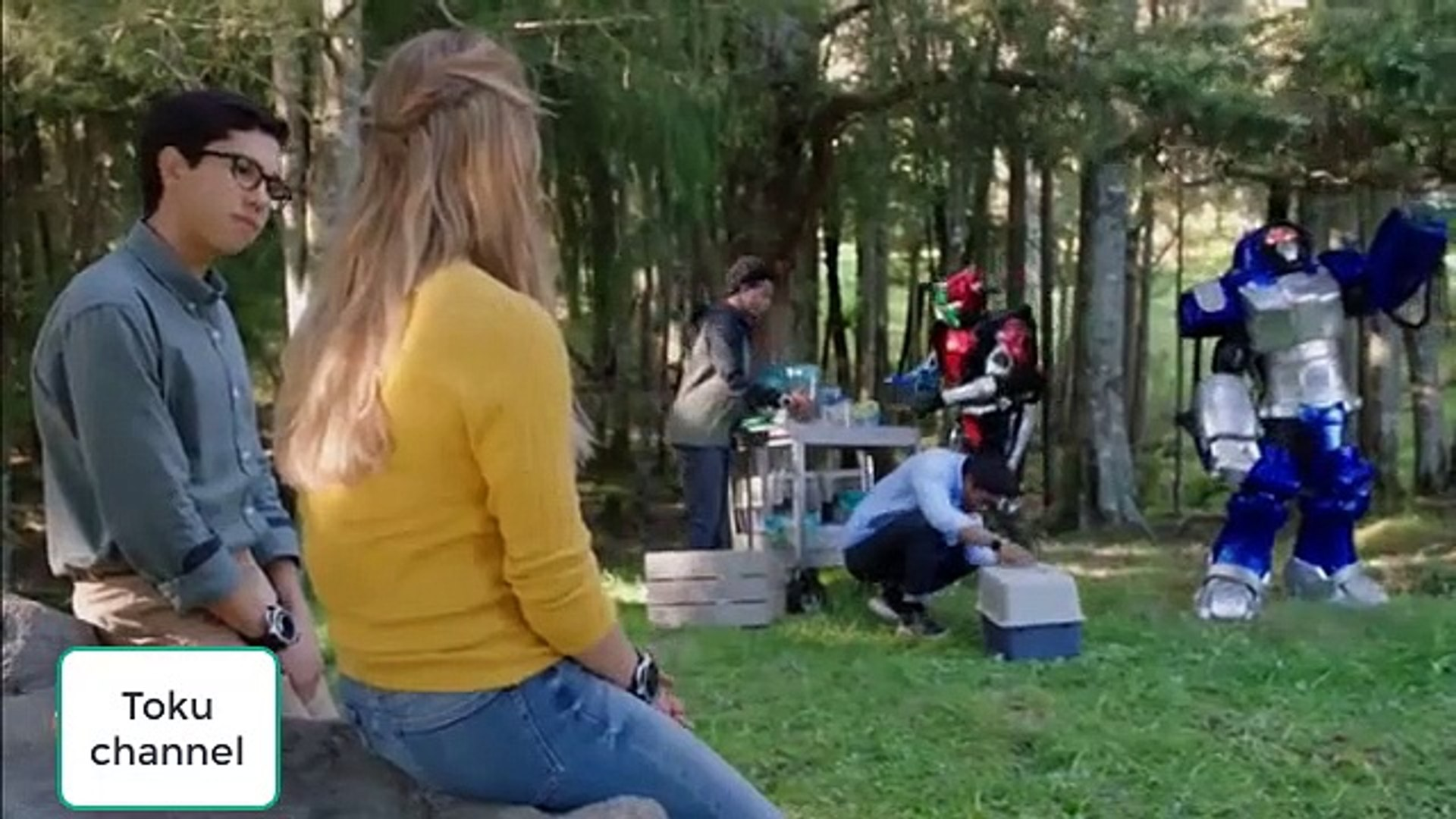 Power ranger beast morpher ep 03 raw
