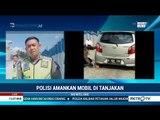 Viral, Aksi Polisi Dorong Mobil di Tanjakan Kali Kenteng
