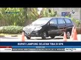 Terjaring OTT, Bupati Lampung Selatan Tiba di Gedung KPK