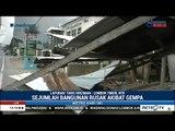 Bangunan Hancur Akibat Gempa Besar Susulan di Lombok 19 Agustus