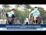 Suasana Latihan Atlet Boling Rumput Asian Para Games 2018