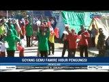 "Goyang ""Gemu Famire"" Hibur Korban Gempa Lombok"