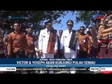 Gubernur Victor Laiskodat Disambut Meriah Warga Kupang NTT