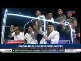 Seru ! Jokowi-Ma'ruf Naik Mobil Hias Ke KPU