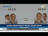 Survei Terbaru Alvara: Jokowi-Ma'ruf Unggul di Hampir Semua Kategori