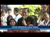 Saat Jokowi Dengarkan Curhat Ibu-ibu Penjual Pisang Keju