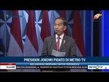 [Full] Pidato Presiden Jokowi di HUT ke-18 Metro TV