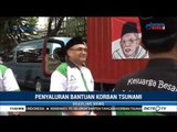 Relawan Milenial Jokowi-Ma'ruf Salurkan Bantuan ke Banten