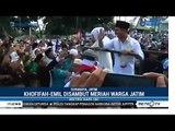 Gubernur Khofifah dan Emil Disambut Meriah Warga Jatim