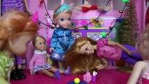 Célébration de NOËL ! Elsa & Anna les tout - petits- Chants - Jeu