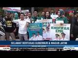 Persiapan Penyambutan Khofifah-Emil Dardak di Surabaya