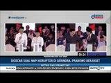 Dicecar soal Napi Koruptor di Gerindra, Prabowo Berjoget