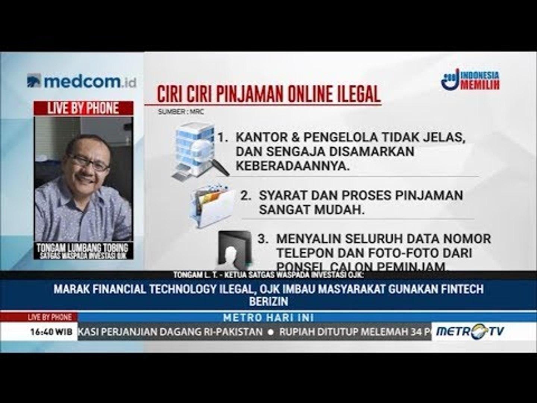 Tergoda Utang Online Ilegal Video Dailymotion