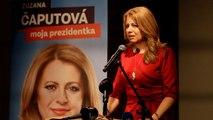 Présidentielle slovaque : la libérale Zuzana Caputova en tête du 1er tour